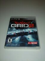 GRID 2 (Sony PlayStation 3, 2013) COMPLETE CODEMASTERS RACING EVERYONE PS3