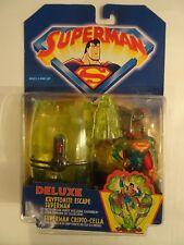 Superman - Figurine Deluxe Kryptonite Escape Dc Comics 1998 Kenner Hasbro