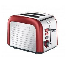Breville Opula CANDY RED Stainless Steel 2 Slice Toaster VTT328
