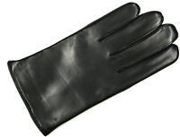 ROECKL Herren Handschuhe Leder schwarz 13011-598 neu! Freizeit Fleecefutter