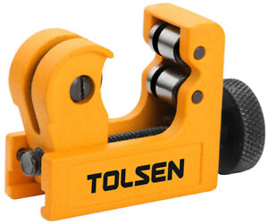 Tolsen Pro Pocket Mini Pipe Cutter Copper Brass PVC Tubes Adjustable 3mm-22mm