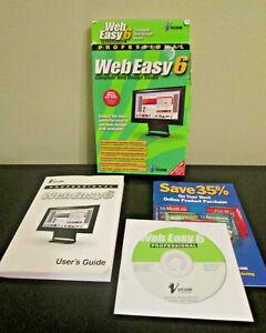 Professional Web Easy 6 - Complete Web Design Studio - Vcom Avanquest 2005