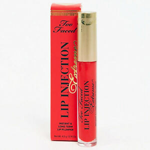 Too Faced Lip Injection Extreme Lip Plumper STRAWBERRY KISS - 0.14 Oz. / 4.0 g