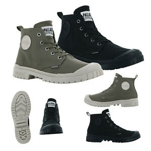 Palladium Unisex Premium Pampa Hi Canvas Lightweight Branded Vegan Ankle Boot