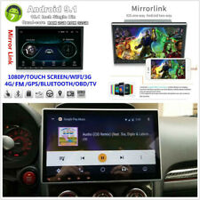 "10.1"" Touch Screen 1Din Android 9.1 Car Video Wifi 4G MP5 Player GPS Mirror Link"