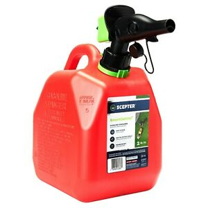 Scepter 2 Gallon Smartcontrol Gas Can, FR1G202, Red  - FREESHIPPING !!