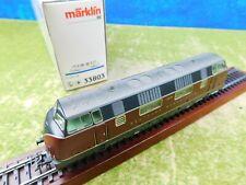 C09 Märklin H0 33803 Diesellok DB rot V 200 018 Delta digital OVP TOP