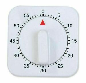 Kitchen Cooking Timer Alarm Mechanical Roasting Count Down Tool 1 Hour Timer