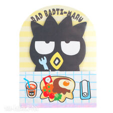 New Sanrio Badtz-Maru Lunch Memo Pad Note Paper Letter Writing Stationery Set