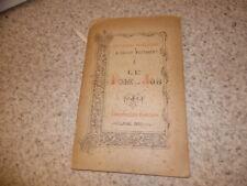 1892.Livres poétiques ancien testament.Poème de Job.Anonyme