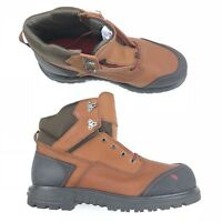 Red Wing Men BRNR XP 6 Inch Safety Boot Brown Leather Aluminum Toe 2403