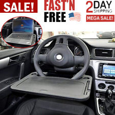 Laptop Steering Wheel Desk Auto Car Computer Mount Holder Eating Tray Stand NEW