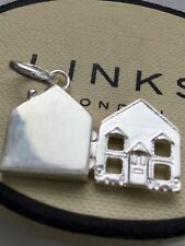 Links of London 925 Silver Home Is Where The Heart Is Charm - New
