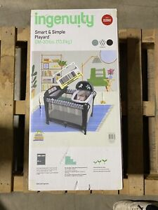 Ingenuity Smart and Simple Playard Removable Canopy & Changing Station Chadwick
