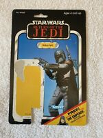 Star Wars Vintage Original Card Back Only Boba Fett Mandalorian