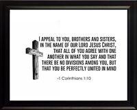 LOVE I Corinthians 13 Plaque Sign Blossom Bucket 8 x 10 x 2 Wedding Gift