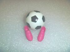 Barbie Shoes - Soccer Cleats and Soccer Ball