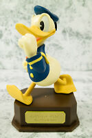 Walt Disney Donald Duck Walking Figurine Statue Birth Memorial limited in Box