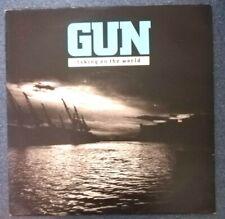 """Gun. Taking On The World.(1989 MINT Vinyl 7"""" Single)"""