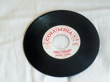"JUNIOR LEWIS*FORTY DAYS AND FORTY NIGHTS /THE ONLY GIRL*7""45 RPM*R&B*D.J COPY"