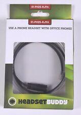 Headset Buddy for Office Phones 2.5mm  RJ9 / RJ10 / RJ22 Plug  01-PH25-RJ9A