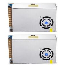 2x Ac Dc 12v 20a 240w Transformer Power Supply Driver Switch For Led Strip Light