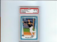 2011 Bowman Draft Trevor Story BLUE PARALLEL Prospect Card #d 328/499 PSA 8
