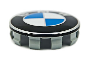 BMW Genuine X1 X3 X4 X5 X6 Alloy Wheel Centre Cover Hub Cap Chrome 68mm 6783536