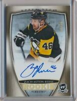2018-19 The Cup Rookie AUTO Gold 85 Zach Aston-Reese /36 Pittsburgh Penguins