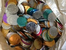 LOT OF OVER 1,000 MARDI GRAS DOUBLOONS COINS TOKENS