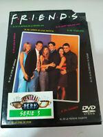 FRIENDS TEMPORADA SEASON 3 COMPLETA - 4 DVD DOBLE EDICION CAJA DURA CENTRAL PERK