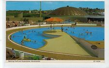 BATHING POOL AND SUPERDROME, MORECAMBE: Lancashire postcard (C20038)