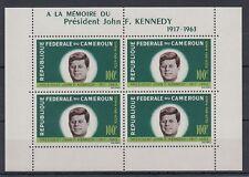Cameroun Cameroun 1964 ** bl.3 John F. Kennedy JFK [sq4557]