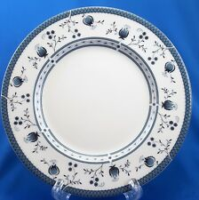"""Royal Doulton Cambridge Salad Plate 8"""" White Blue Floral TC1017"""