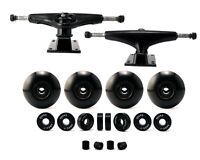 5.0 Skateboard Trucks w Skateboard Wheels w Skateboard Bearings Spacer Set