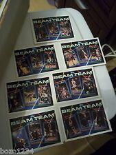 1994 TOPPS BEAM TEAM SET 7 CARD COMPLETE NRMT-MT JORDAN RODMAN SHAQUILLE O'NEAL