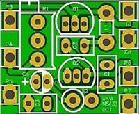 BAUSATZ UKW Sender 15x18mm (Minispion Radio Transceiver Testsender Funkmikrofon)