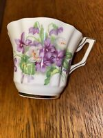 Beautiful Floral Gold Trimmed Bone China Made In England Teacup Replacement