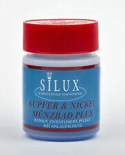 SILUX- Kupfer, Nickel, Messing Münzbad Plus 200ml, Münzreinigungsbad, Münzpflege