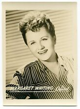 Vintage Capitol Records Promo Photo: Margaret Whiting