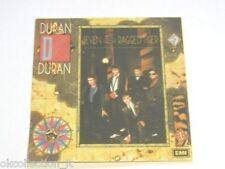 ADESIVO anni '80 vintage / Old Sticker DURAN DURAN (cm 9x9) gruppo musicale