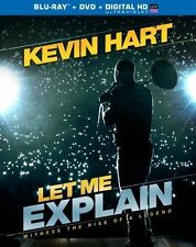 Kevin Hart: Let Me Explain (BR/DVD & Digital HD).        **BRAND NEW** W/ Slip..