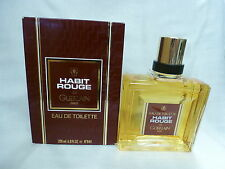 Habit Rouge de Guerlain  Eau De Toilette Splash 6.7 fl oz / 200 ml new in a box