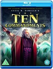 The Ten Commandments [Blu-ray] [1956] [Region Free], DVD | 5051368243139 | New