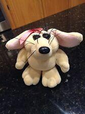 Heartline Snuggables Allie Mouse Rat Pack stuffed animal vintage plush see eyes