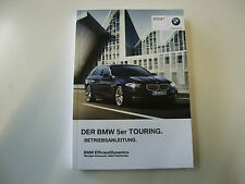 BMW Betriebsanleitung  Deutschland  5er F11 Touring   Mod. 2012  01402607906