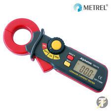 Metrel / alphatek tek775 Mini Pinza AC corrente di fuga Tester Meter
