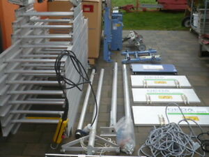 neu Geda Schiene Leiterteil Schienen Leiter für Dachdeckeraufzug Leiterteile