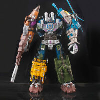 5 in 1 Transformation Bruticus Warbotron Decepticons KO Oversized Toys Figure WB
