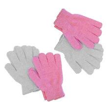 10Pcs Soft Shower Bath Gloves Exfoliating Wash Skin Massage Body Scrubber New